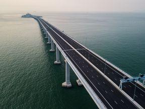 The Hong Kong-Zhuhai-Macau Bridge