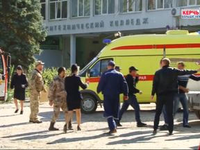 Bomb blast at Kerch college in Crimea