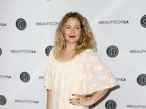Drew Barrymore attends the Beautycon Festival LA 2018 at the Los Angeles Convention Center on July 14, 2018