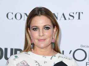 Drew Barrymore attends Glamour's 2017 Women of The Year Awards at Kings Theatre on November 13, 2017 in Brooklyn, New York
