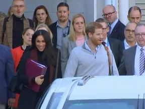 The Duke and Duchess of Sussex arrive in Sydney
