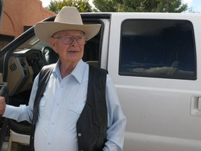 Jim Chilton has 50,000 of land on the US-Mexico border in Arizona