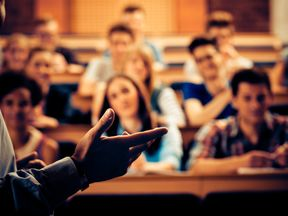 Aston University is taking action against disruptive students in lectures. File pic