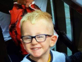 The little boy is 'fighting for his life', police said
