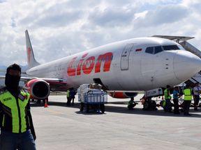 Lion Air Boeing 737-800 aircraft. File pic