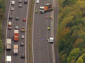 A fatal crash on the M4 in Berkshire closed the motorway for hours
