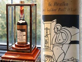 A 60-year old The Macallan Valerio Adami 1926