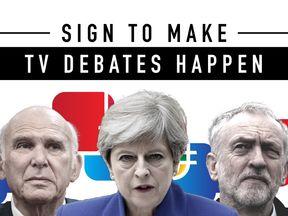 Sign Sky's petition to make debates happen