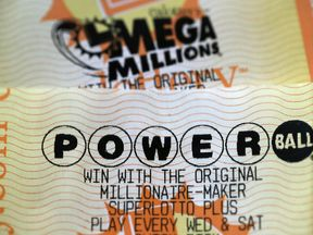 Mega Millions and Powerball tickets