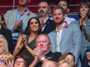 The Duke and Duchess of Sussex attend the Invictus Games 2018 closing ceremony in Sydney