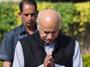 Junior foreign minister MJ Akbar is accused of sexual harassment by seven journalists when he was a newspaper editor