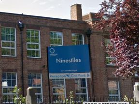 Ninestiles secondary school wants students to be silent between lessons