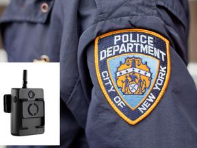 NYPD said all of its Vievu LE-5 cameras would be taken out of service
