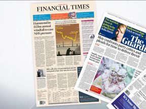 The papers on Tuesday