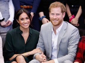"Meghan and Harry were ""very pleased"" to announce they are expecting a baby"
