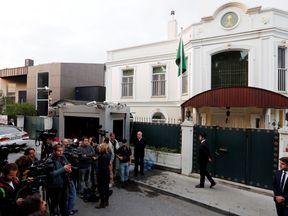 Residence of Consul General of Saudi Arabia Mohammad al-Otaibi in Istanbul