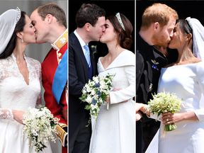 Princess Eugenie's big day shared a few similarities with other recent royal weddings
