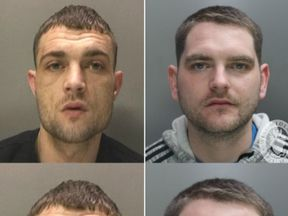 Ryan Hobday (left) and Ben Whyley are wanted by police - but are feared dead