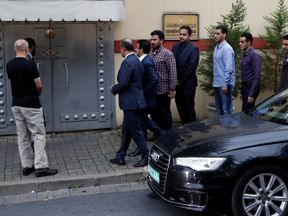 Officials are to search the consulate after Mr Khashoggi went missing