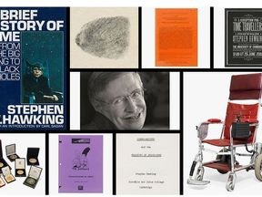 Stephen Hawking's personal items are being auctioned at Christie's