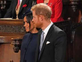 The Duchess of Sussex and Prince Harry
