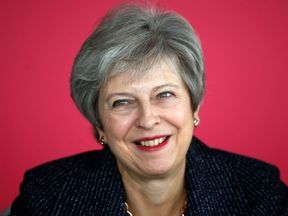 Prime Minister Theresa May attends a roundtable meeting with business leaders whose companies are inaugural signatories of the Race at Work Charter