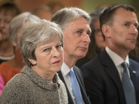 Theresa May and Philip Hammond are under pressure over the univesal credit system