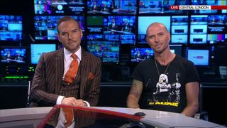Matt and Luke Goss from Bros