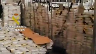 Six tons of cocaine seized in Malaga