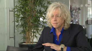 Bob Geldof is leading the group of musicians