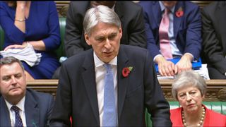 "Chancellor Philip Hammond said the ""era of austerity is finally coming to an end"", in his autumn budget speech."