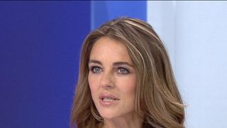 Liz Hurley campaigns for breast cancer awareness and research