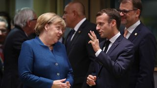Both Chancellor Merkel and President Macron are making plans for a 'no deal' Brexit
