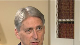The chancellor indicates that a 'different strategy' towards the budget would be necessary in the case of a 'no-deal' Brexit
