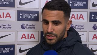 Riyad Marhez interviewed in the Wembley tunnel.