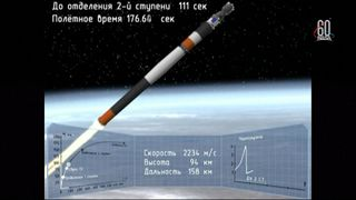 A manned launch to the International Space Station has been aborted following failures to the Russian booster rocket