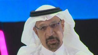 El ministro saudita de Energía, Khalid Al-Falih, dice que