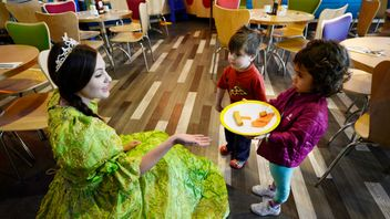 Children's food: more than just fishfingers