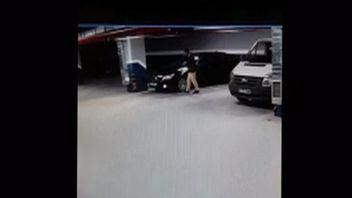 CCTV shows 'suspicious movement' with Saudi consulate cars.