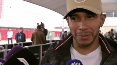Hamilton 'enjoyed' US GP pole