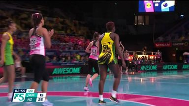 Jamaica 33-34 New Zealand
