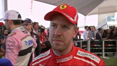 Vettel's mixed emotions