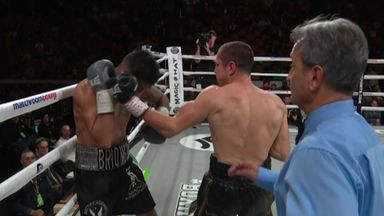 Quick-fire win for Quigg!