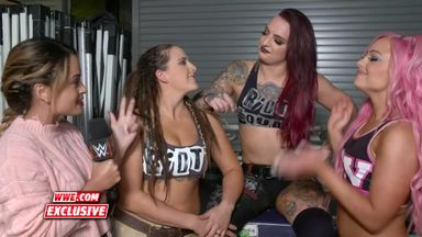 Evolution will be all about The Riott Squad