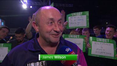 Wilson happy after win