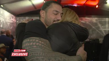 Superstars show support for Reigns