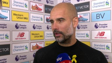 Pep: Our back four were so good