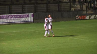 Crystal Palace 5-0 Dulwich Hamlet