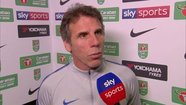 Zola: Derby caused us problems