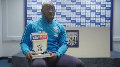 Moore wins Manager of the Month